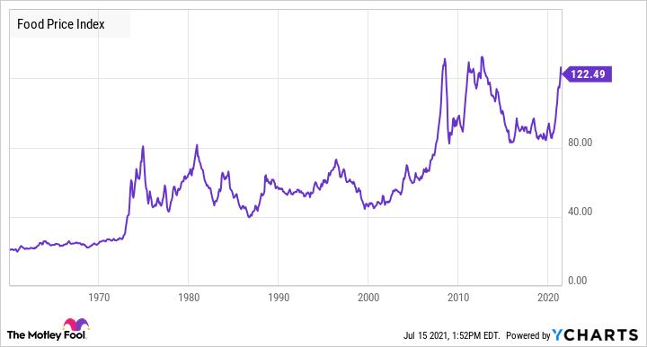 Food Price Index Chart