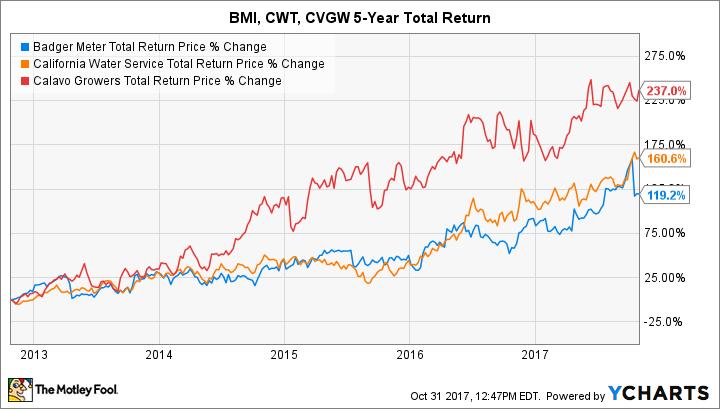 BMI Total Return Price Chart