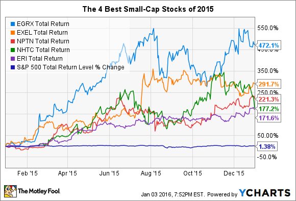 Best Small-Cap Stocks of 2015 -- The Motley Fool