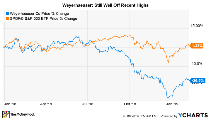 Why Weyerhaeuser Stock Rocketed 20% in January | The Motley Fool