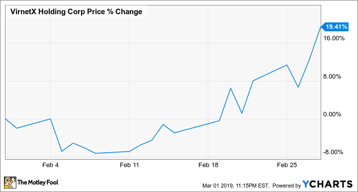 Why VirnetX Holding Stock Gained 19.4% in February