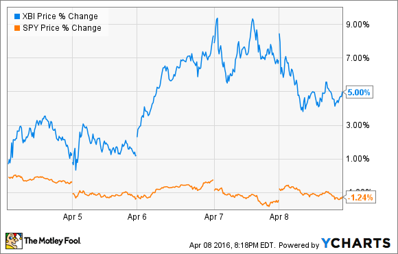 Last Week's Best Healthcare ETF -- The Motley Fool